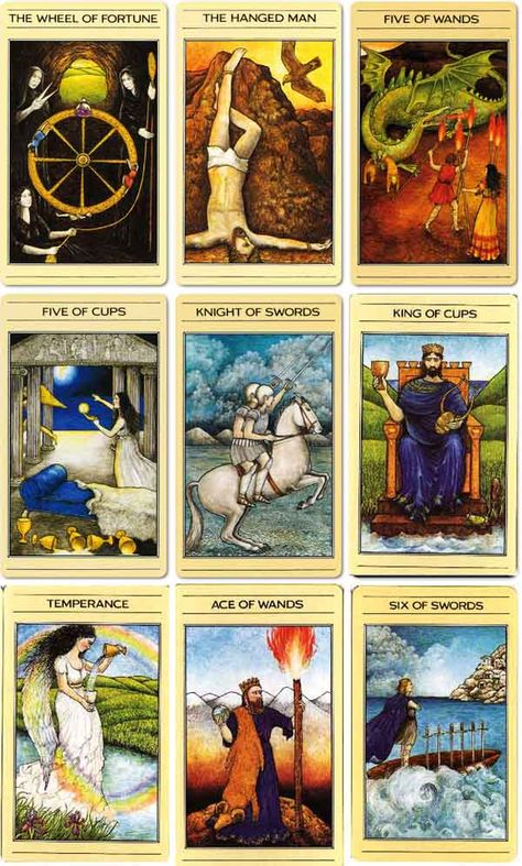 Tarot Card Decks Through History