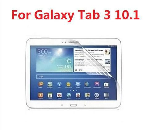 High Clear Full Body Front Screen Protector For Samsung Galaxy Tab 3 10 1 P5200 P5210 Retail Package Yesterday S Price Us 1 Screen Protector Full Body Samsung