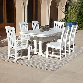 Prescott 7 Piece Dining Set By Polywood Polywood Outdoor