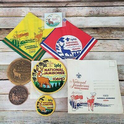 BSA National Jamboree Idaho Neckerchief 1969