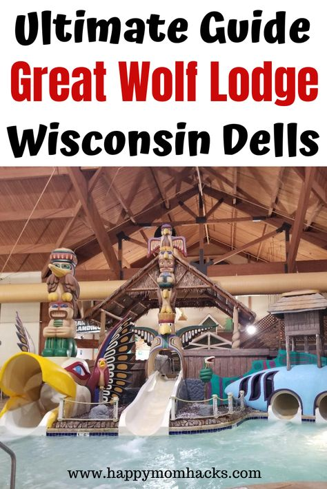 Ultimate Great Wolf Lodge Review & Tips | Happy Mom Hacks