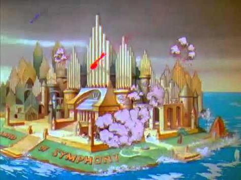 """Corto Animado """"La Tierra de la Musica"""" - Music Land de Disney - 1935 La princesa violín vive en el pais de la Sinfonía, mientras que el principe saxofón vive..."""