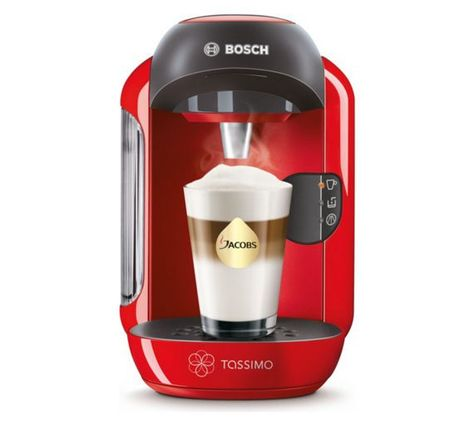 Buy Tassimo By Bosch Vivy Pod Coffee Machine Red At Argos