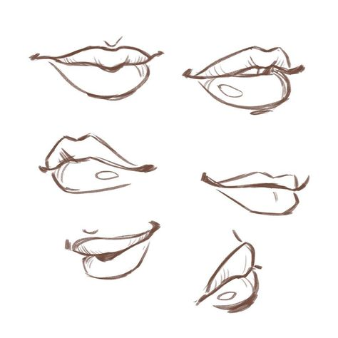 "Danielle Pioli - Artist on Instagram: ""Body Parts challenge day 23 - mouth 👄"""