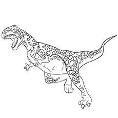 Megalosaurus Images Coloring Dinozaury