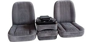 The Del Rey Is A Basic Seat Without All The Frills These Seats Offer All The Basics Of A Sport Seat For All Ford Dod Discount Vans Custom Chevy Trucks Seating