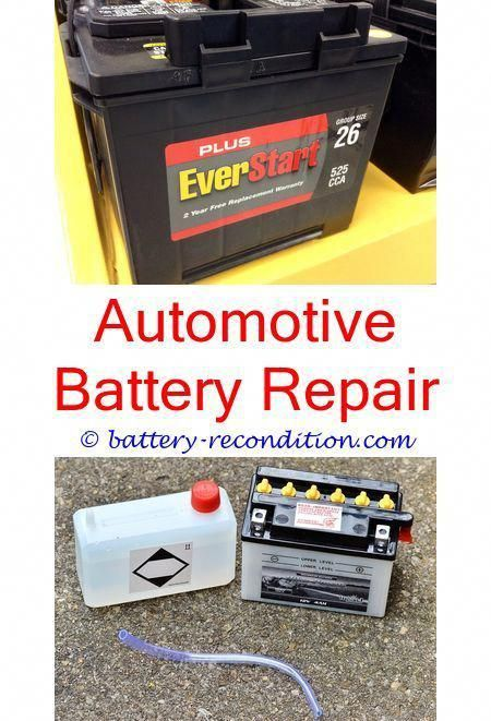 Batteryreconditioning Watch Battery Repair Near Me Demonstrations Of How To Recondition A Lead Cell Battery Battery Repair Car Battery Recondition Batteries