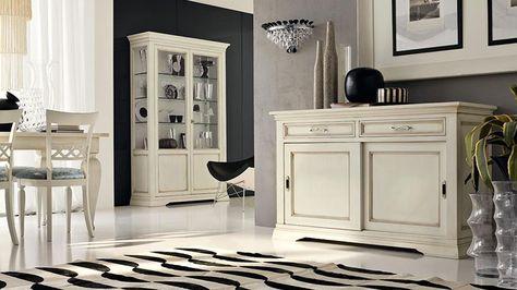 Soggiorno Classico Bianco: 20 Idee per Arredare con Classe | Tv ...