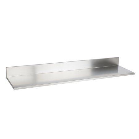 Wallniture Plat 30 5 Heavy Duty Kitchenorganization And Storage Shelf Stainless Steel Wall Shelf Walmart Com In 2020 Steel Wall Wall Shelves Steel Shelf