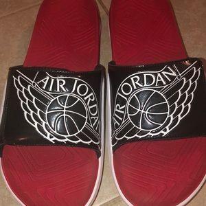 air Jordan slides #shoes #shoe