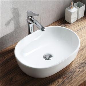 手洗い鉢 洗面ボウル 手洗器 洗面ボール 洗面台 陶器 楕円型 置き型