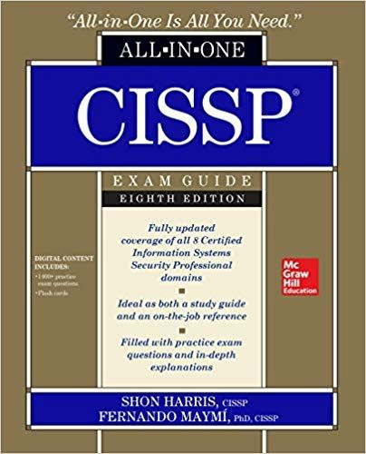 Download Pdf Cissp All In One Exam Guide Eighth Edition Free Epub Mobi Ebooks Exam Guide Exam Ebook