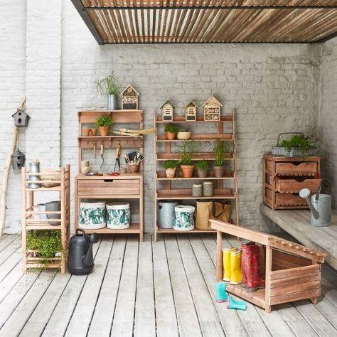 Soldes D Ete 2019 Nos Reperages Shopping Deco La Redoute Et Am Pm Etagere Jardin Mobilier Jardin Outils De Jardin