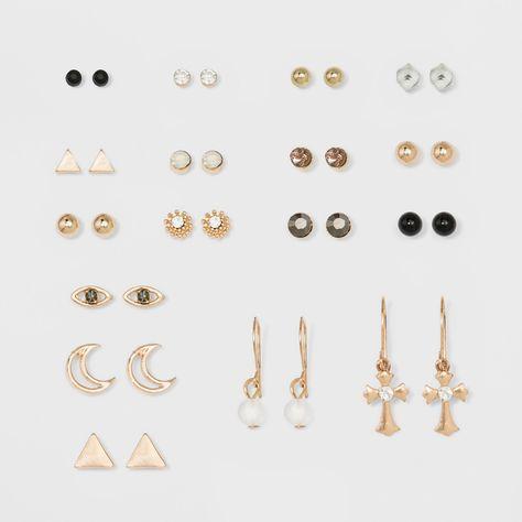 Baguette Diamond Earrings/ Gold Baguette and Round Cut Diamond Earrings/ Minimalist Baguette Earrings/ Mix Diamond Earrings/ Graduation - Fine Jewelry Ideas Ear Jewelry, Art Deco Jewelry, Cute Jewelry, Stone Jewelry, Jewelery, Unique Jewelry, Tassel Drop Earrings, Cute Earrings, Minimalist Earrings
