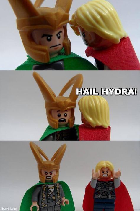 """""""Hail HYDRA."""" (And this is me being so done with this meme ..."""