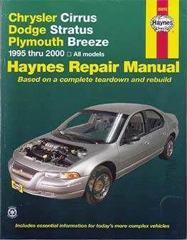 Pin By Autorepmans On Download Auto Moto Repair Manuals Chrysler Cirrus Repair Manuals Dodge Stratus