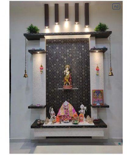 Pin By Anu Peter On Prayer Room In 2020 Pooja Room Design Pooja
