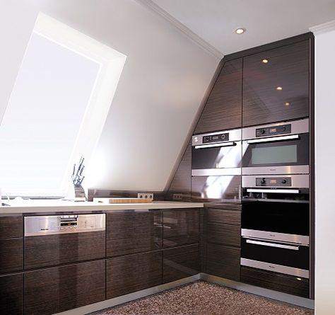 Unter dem Dach Lilaliv Küche Pinterest Dachs, Küche und - kleine k che dachschr ge