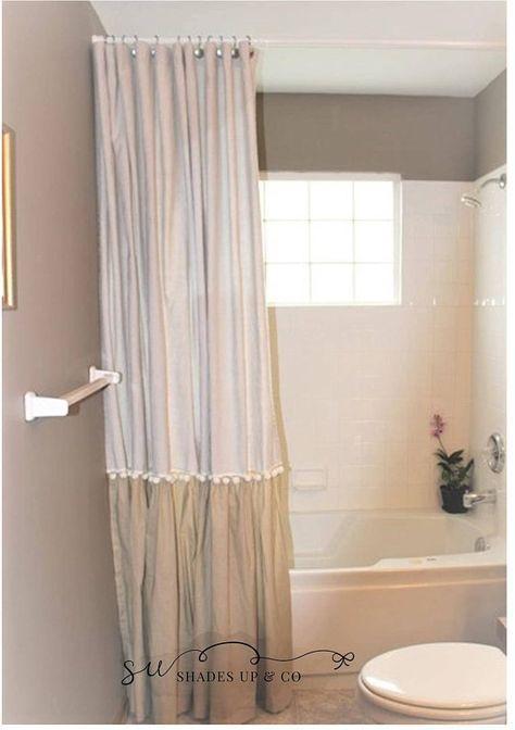 Farmhouse Bathroom Shower Curtain Shabby Chic 68 Ideas Shabby