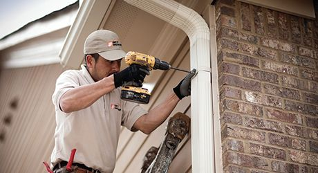 Remove Connecting Hardware Repair Leaky Gutter Gutters Repair How To Remove