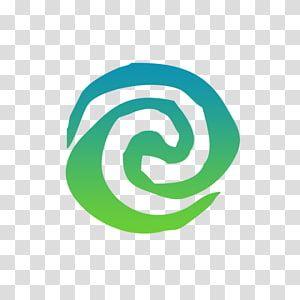 Decal Logo Film Symbol Moana Blue Swirl Illustration Transparent Background Png Clipart Painting Logo Clip Art Moana