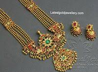 Rani Haram with Kundan Pendant - Indian Jewellery Designs