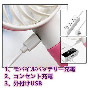 Aoif 手持ち式ファン Usb扇風機 小型 強力 静音 携帯 ハンディファン 1308 扇風機 小型 ハンディ Usb 扇風機