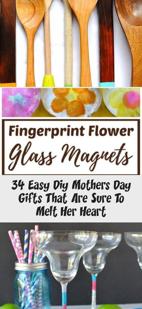 34 Easy Diy Mothers Day Gifts That Are Sure To Melt Her Heart - Best Diy ,  #Day #diy #Easy #gifts #Heart #Melt #Mothers #thoughtfulpresentsformom