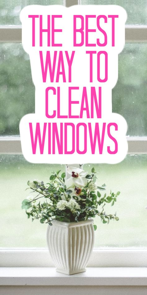 Our top tips and tricks for getting your windows as clean as possible inside and out! #cleaning #windows