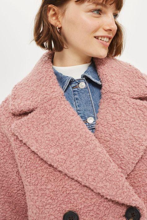 Boucle Textured Coat