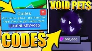 5 Secret Void Eggs Update Codes In Bubble Gum Simulator Roblox