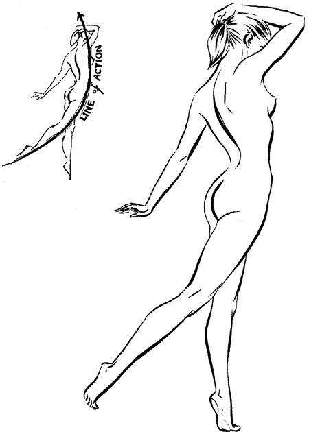 Рисовать голую женщину — 14
