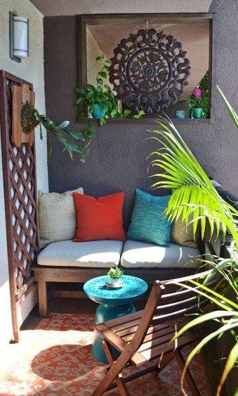 45 Small Balcony Decorating Ideas For Apartment Decoracion