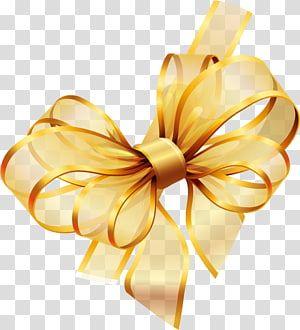 Gold Ribbon Yellow Ribbon Illustration Transparent Background Png Clipart Ribbon Banner Ribbon Png Pink Ribbon Awareness