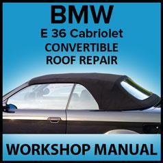 Bmw E36 Electric Convertible Top Repair Manual Convertible Top Repair Bmw Convertible Top