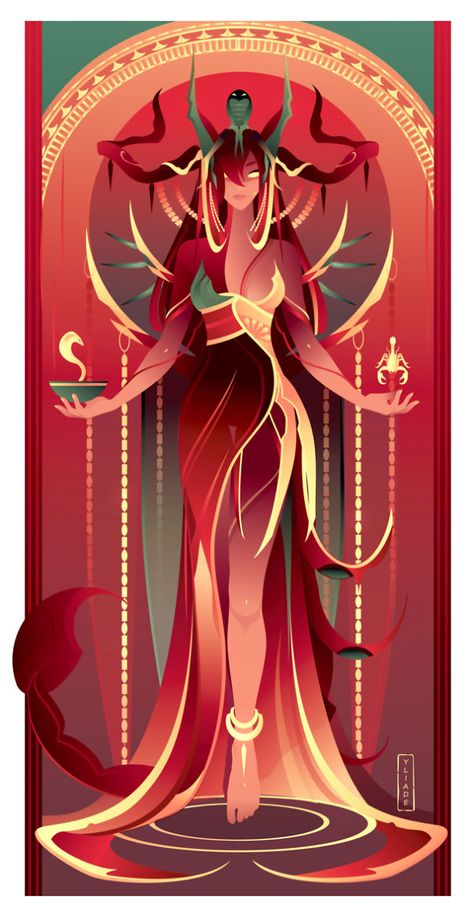 This French Artist Created 11 Beautiful Illustrations Of Ancient Egyptian Gods And Goddesses Egyptian Mythology, Egyptian Art, Egyptian Goddess, Egyptian Jewelry, Egyptian Costume, Character Inspiration, Character Art, Bastet, Goddess Art