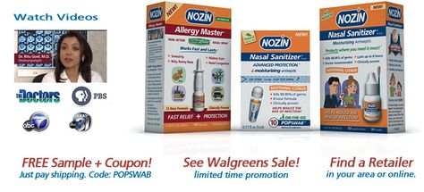 Nozin Nasal Sanitizer Antiseptic Is The Perfect Product To Help