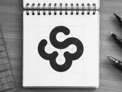 Es Monogram Monogram Logo Design Monogram Logo