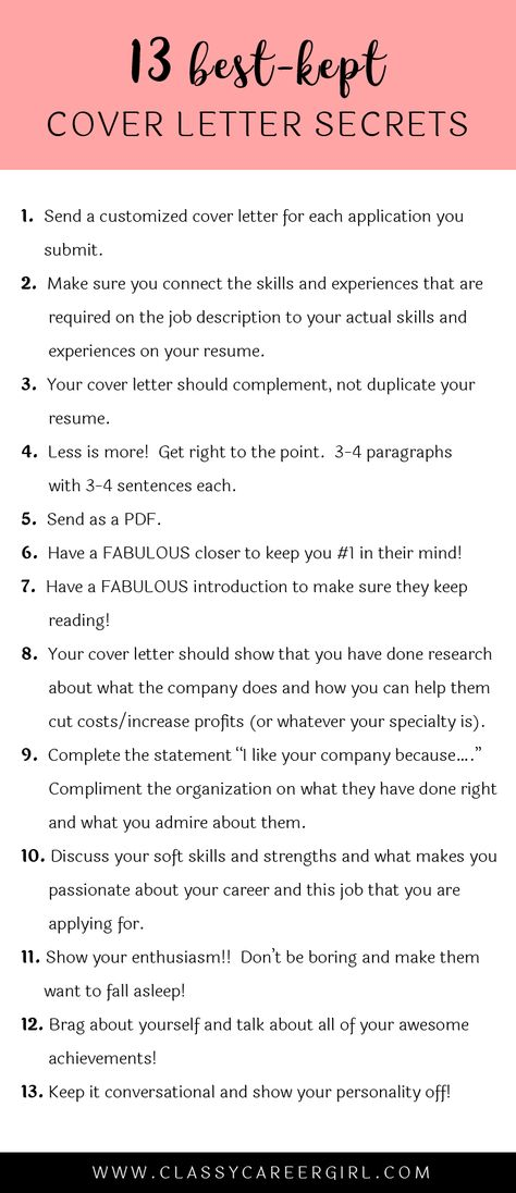 The 13 Best-Kept Cover Letter Secrets Small things, Adulting and - emailing resume and cover letter
