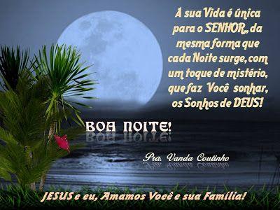 Boa Noite A Voce Pessoa Especial E Amada De Jesus A Graca E A