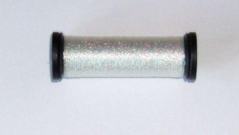 55-Yard Kreinik BF-032 Blending Filament 50m Metallic Thread for Sewing Pearl