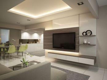 85 Interior Designs Tv Wall Units Muebles De Entretenimiento Muebles Sala Diseño De Sala De Tv