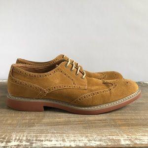 Alfani Suede Oxford Wingtips Shoes