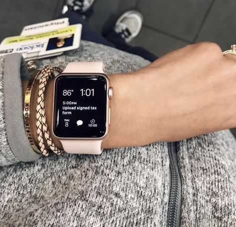 apple watch band and case Get your Free iPhone 11 Pro Or Apple Accessoires Gift White Apple Watch Band, Gold Apple Watch, Apple Band, Cute Apple Watch Bands, Apple Watch Faces, Apple Watch Accessories, Fashion Accessories, Cool Watches, Watches For Men