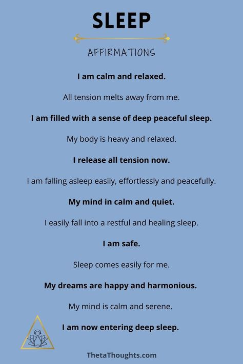Positive affirmations that allow you to take control of your thoughts and harness their power to create massive positive momentum in your life. When you consciously choose your thoughts you shift your mindset to align with the life you desire. Sleep Meditation | Sleep Affirmations | Night Routine #insomnia #sleep