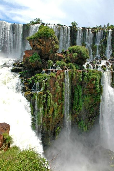 50 Most Beautiful Places In The World - Page 7 of 23 - The Crazy Tourist Iguazu Falls, Argentina – Brazil Brazil Vacation, Brazil Travel, Mexico Travel, Puerto Iguazu, Places To Travel, Places To Visit, South America Travel, Beautiful Places In The World, Wonders Of The World