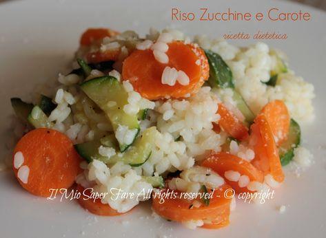Diete Veloci E Facili : Risotto zucchine e carote ricetta facile per la dieta primi