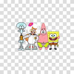 Patrick Star Squidward Tentacles T Shirt Mr Krabs Casting Spongebob Transparent Background Png Clipart Spongebob Imagination Spongebob Clip Art