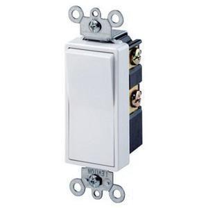 Leviton 5604 2w 120 277 Volt 15 Amp 4 Way Residential Grade Rocker Ac Quiet Switch White Decora Reg Decora Switches Leviton Decora