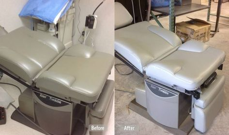 Examination Chair Refurbished | Medical Furniture Restoration | Pinterest